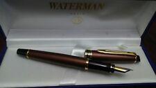 Waterman Bronze Expert II Fountain Pen  Med. Nib--Brand New-Discontinued Model
