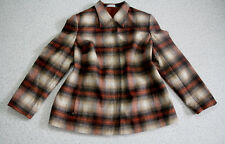 BONITA warme Jacke Gr.XL/44-46 kariert klassisch braun-beige w.NEU