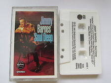 "JIMMY BARNES ""SOUL DEEP"" 1991 MADE IN AUSTRALIA CASSETTE,  (V.G.C.) TESTED."