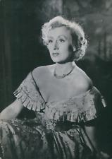 Actrice Madeleine Rousset, 1950, vintage silver print vintage silver printMa