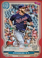 2020 Topps BUNT Stephen Strasburg Gypsy Queen S2 RED Base ICONIC! [DIGITAL CARD}