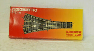 Fleischmann HO Scale Profi-Track Three-Way Turnout