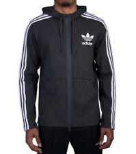 NEW Adidas Originals Curated Men's Full Zip Hoodie Jacket SMLL br4249 BLCKME $85