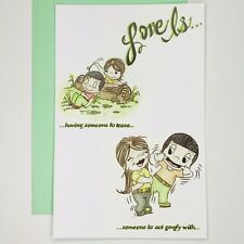 Love Is Greeting Card by Kim Casali (Valentines Day, Thinking of you)