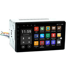 "7"" Android 6.0 Double 2 DIN Navi Sat Nav Car GPS Stereo Radio WiFi CAN 4x50W"