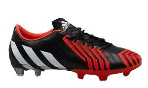 Adidas Predator Instinct Firm Ground Black Lace Up Mens Football Boots B24152