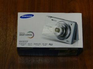 NEW in Open Box - Samsung Flip Out MV900F 16.3MP Camera - WHITE - EC-MV900FBPWUS