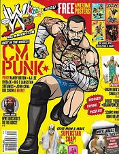 WWE Kids wrestling magazine CM Punk Riddles Trivia Puzzles Drawing Posters Soap