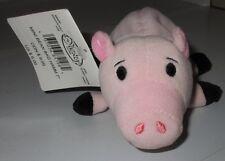 "Disney Store Toy Story Hamm Pig Plush Soft Toy Stuffed 7"" Animal Bean Bag Mini"