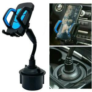 Universal Adjustable Phone Mount Car Cup Holder Stand Cradle For Phone Holder