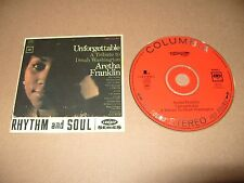 Aretha Franklin Unforgettable A Tribute To Dinah Washington 11 track cd 1995 Ex