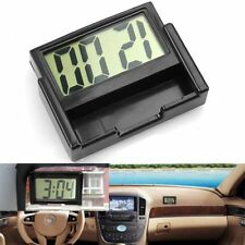 2018 Car Auto Desk Dashboard LCD Screen Digital Clock Self-Adhesive Bracket