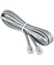 7ft Feet Rj11 4C Reverse Modular Telephone Extension Phone Cord Cable Line Wire