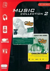 eJay Music Collection - Hip Hop eJay 3 & Sound Collection #2 - PC CD-Rom NEW