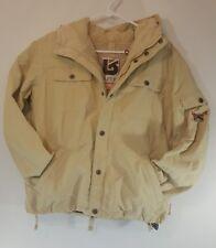BURTON Womens Snowboard Jacket Tan / Cream / Beige Size Large L