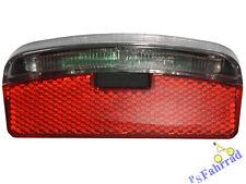 IMP Fahrrad Gepäckträger Rücklicht Licht  1 LED 80mm StVZO zugelassen