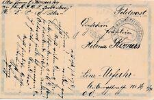 Nr.20770 PK K.u.K. Marine Feldpost Pola 1916 SMS Babenberg