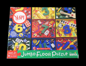 I SPY Scholastic Briarpatch Jumbo Floor Puzzle Educational Toy 35 Big Pieces