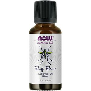 Now Foods Bug Ban Essential Oil Blend - 1 fl oz FRESH, FREE SHIPPING