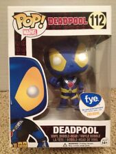 Funko Pop! Marvel Deadpool #112 (Blue X-Men Colors) F.Y.E. Exclusive