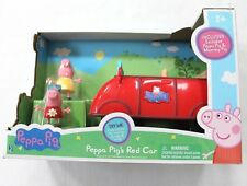 Peppa Pig's Red Car Mummy Pig Sound Effect Phrases Songs