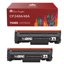 2 Pack CF248A 48A Toner For HP LaserJet Pro M15a M15w M28a M28w M29w MFP Printer