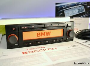 Rare BMW Indianapolis 7969 Becker Radio mp3 Nav CD Radio Aux E46 E36 E38 player