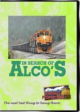 IN SEARCH OF ALCO'S C420, M630, RS1, RS3, FA HIGHBALL PRODUCTIONS NEW DVD VIDEO