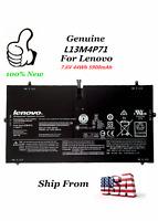 OEM Genuine New L13M4P71 L14S4P71 Battery for Lenovo Yoga 3 Pro 1370 Series 44Wh