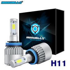 2X H11 LED Headlight Kit Bulb For Suzuki GSXR1000 Ninja ZX6R ZX10R ZX14 R HID