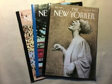 The New Yorker Magazine All August 2018: 6&13,20,27 (Lot of 3) - Free Shipping