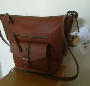 New with tags Jasper Conran tan leather bag RRP 49.00