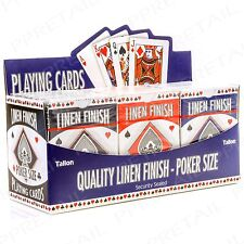 12 PACK Full Classic Poker Playing Card Deck Casino Tournament Security Sealed