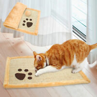 Cat Scratching Board Mat Kitten Scratcher Pad Kitty Soft Paw Plush Bed Toys Fun