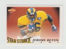 Jerome Bettis Rams 1995 Score Star Struck #216