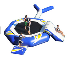 20x15 Commercial Inflatable Water Slide Trampoline Lake Course Bounce Floating