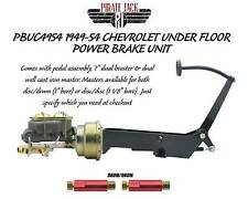 1949-1954 Chevy Frame Mount Power Brake Pedal Assembly Designed for Drum Drum