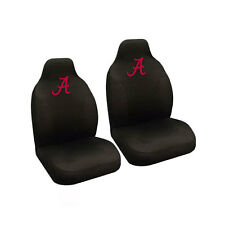 New NCAA Alabama Crimson Tide Universal Fit Car Truck 2 Front Seat Covers Set