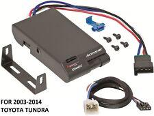 2003-2014 TOYOTA TUNDRA DRAW-TITE ACTIVATOR TRAILER BRAKE CONTROL +2PLUG WIRING