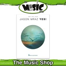 New Jason Mraz 'Yes!' PVG Music Book - Piano Vocal Guitar - Yes