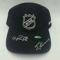 Travis Konecny & Ivan Provorov Signed Black NHL Hockey Hat Flyers Auto UDA COA
