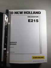 New Holland E215 Excavator Service Repair Manual