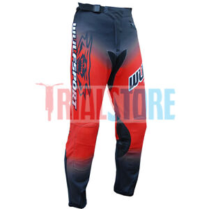 Wulf Forte Trials Riding Pants Red Trials-Offroad-Adventure-FreePP