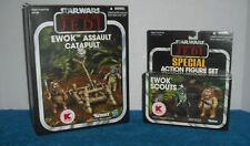Star Wars Vintage Collection LOT Ewok Assault Catapult & Special Ewok Scouts Set