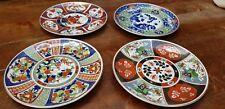 4 vintage Japanese Asian Imari Porcelain Dish Plate Chargers 16 cm Diameter
