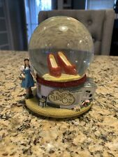 The Wizard of Oz Red Ruby Slippers Snow Globe/Music Globe