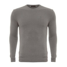 100% CASHMERE BALLANTYNE mens luxury Italian GREY JUMPER sizeXL 54 bnwt £390 new
