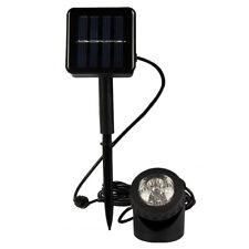 LEDs Solar Spot Lights Warm Garden Light Waterproof Outdoor Yard Lamp