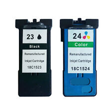 5 Pk 23 Black /& 24 Color Ink For Lexmark Z1410 Z1420 X3530 X3550 X4530 X4550