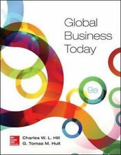 Global Business Today, Hult, G. Tomas M., Hill, Charles W. L., Acceptable Book
